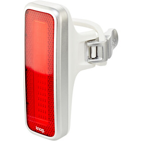 Knog Blinder MOB V Mr Chips Luz de seguridad LED rojo, red/silver